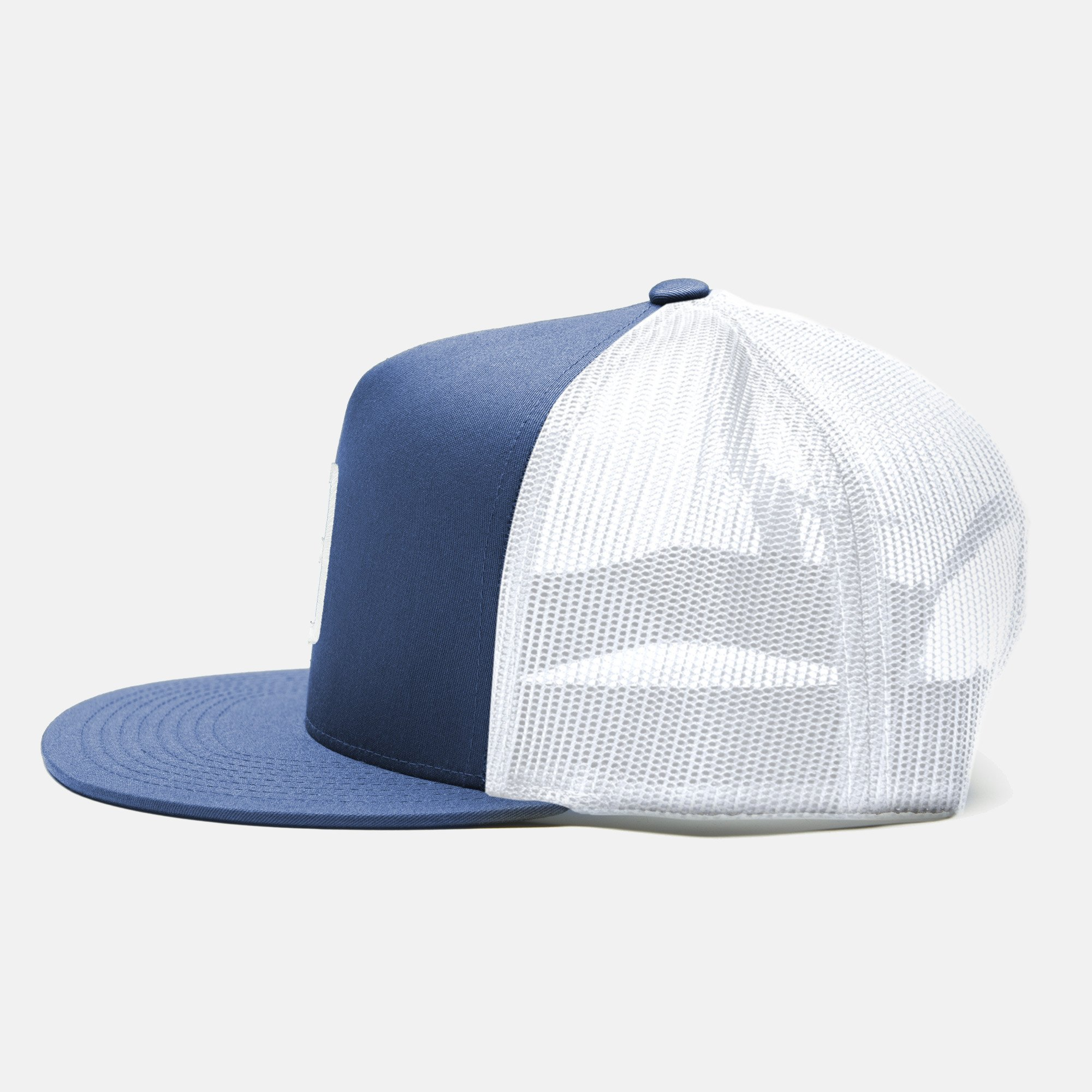 Trucker Cap Embroidery A  - Navy / White